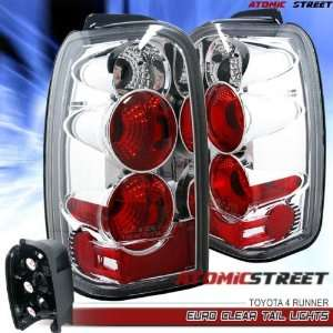 Toyota 4 Runner Tail Lights Chrome o Clear Altezza Taillights 1996