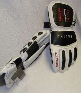 NEW Scott leather World Cup Racing SKI gloves   $155
