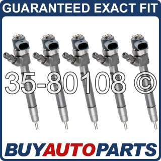 GENUINE OEM BOSCH DIESEL FUEL INJECTOR SET FOR SPRINTER VAN