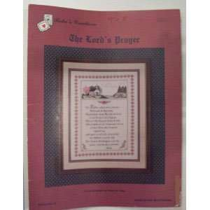 Lords Prayer Stitching Craft Book Books