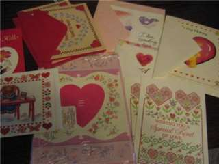 Valentine Card Lot 15 NEW Postcards,Fold Overs,Current