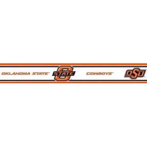 Oklahoma State Cowboys Wallpaper Border Trademarx