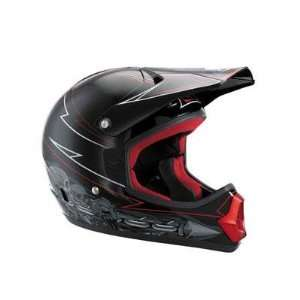 Pro Youth MX Bicycle Helmet   Black   01078 001: Sports & Outdoors