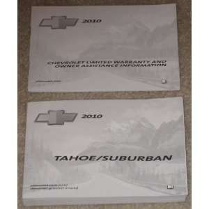 2010 Chevrolet Chevy Tahoe / Suburban Owners Manual