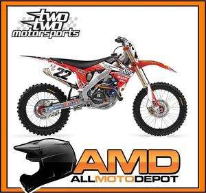 CHAD REED 2012 Two Two Motorsports Team Graphic Kit HONDA