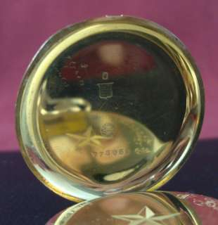 IWC INTERNATIONAL WATCH POCKET WATCH 18k SOLID GOLD