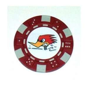 Clay Smih Cams Woodpecker Las Vegas Casino Poker Chip