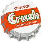 12 orange crush soda coca cola pepsi cooler pop machine