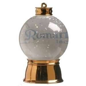 Pack of 24 Lighted LED Picture Frame Christmas Glitter Snow Globes