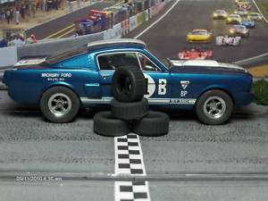 32 URETHANE SLOT CAR TIRES 2pr fit REVELL MONOGRAM Mustang