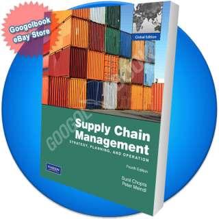 Supply Chain Management   9780136094517, 0136094511