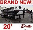 cattle pot stock semi tractor trailer Merritt Trailer company