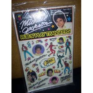 Classic Colorforms   Michael Jackson Collectors Set Toys