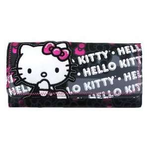 Loungefly Hello Kitty Black and Metallic Pink Bows All