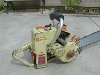 1950s Antique David Bradley Chainsaw Gear Driven Three Sixty