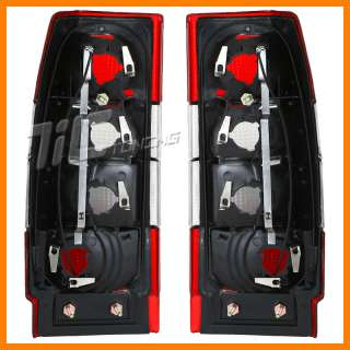 85 94 VOLVO 740/960 WAGON NEW RED/CLEAR TAIL LIGHTS SET