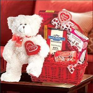 Happy Valentines Day Gift Basket Gift Grocery & Gourmet Food