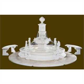 5025F24Henri StudioGrande Tower Millennia Fountain only $7843