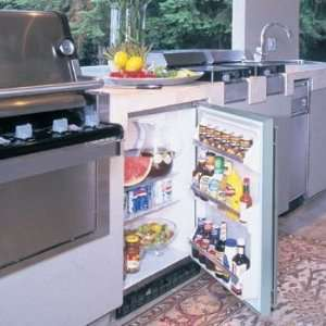Defrost and 190 Can Capacity Stainless Steel w/ Lock and Key