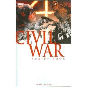 Civil War Script Book TP Written by MARK MILLAR; Penciled