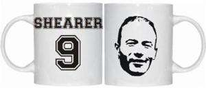 ALAN SHEARER NEWCASTLE TOON ARMY UNITED THEMED MUG