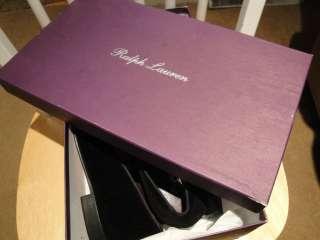 Lauren Purple Label RLPL Mens Collis Velvet Slippers Shoes 8D