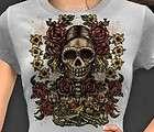 Frida Kahlo Portrait Day Of The Dead Dia De Los Muertos T Shirt S