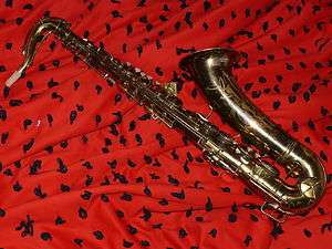Vintage Conn 10m Tenor Saxophone Rolled tone Holes Fresh Overhaul!!!!