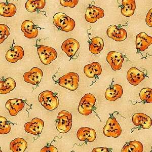 Scary Night Cotton Fabric 2208 34 Arts, Crafts & Sewing