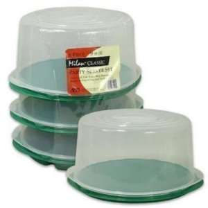 Tray 3 Piece Party Server Plastic Case Pack 4 Everything