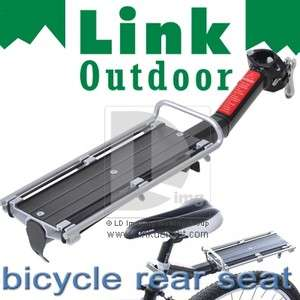 BIKE BICYCLE Saddle Seat REAR BEAM RACK CARGO CARRIER post