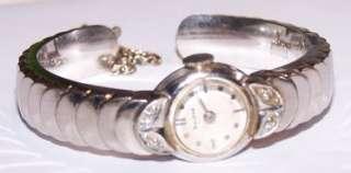 Vintage BULOVA 10K GF Diamond Watch with Awesome GF Bulova Cuff