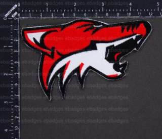 A822 NHL Phoenix Coyotes Primary Logo Iron On Patch