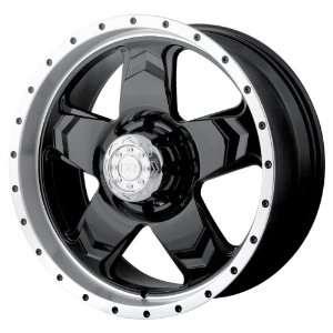Alloy 177 Black Wheel with Machined Lip (18x9/5x135mm) Automotive
