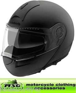 SCHUBERTH C3 FLIP MOTORCYCLE HELMET MATT BLACK XXL