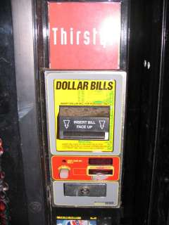 Coca Cola Drink Vending Machine 6 Selection, Soda, Beverage, Dollar