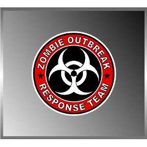Zombie Outbreak Response Team Cool Vinyl Decal Bumper Sticker 4