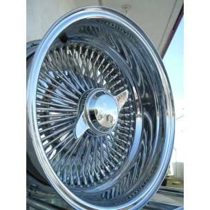 14 Chrome spoke Lowrider Wire Rims Wheels IMPALA BUICK