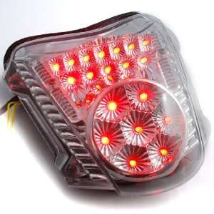 Bike Integrated LED Taillight Turn Signals Brake Running Lights For