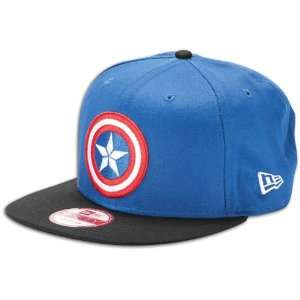 The Avengers Movie Captain America Shield Logo Snapback M