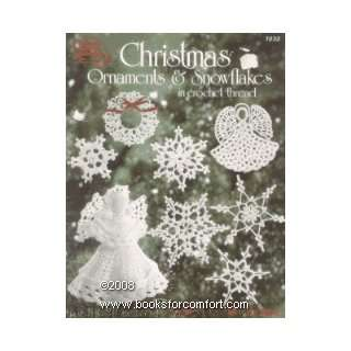 & Snowflakes in Crochet Thread (ASN 1033) Mary Thomas Books