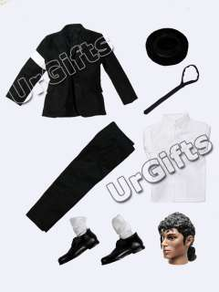 urgifts michael jackson doll 1 6 12 figure dangerous live black suit
