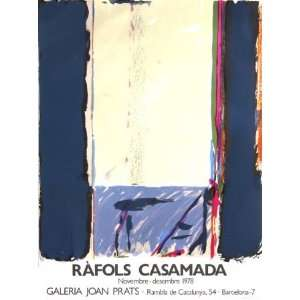 Galeria Joan Prats 1978 by Albert Rafols Casamada, 22x30