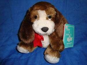 Russ Luv Pet Plush Dog DARVIS Vintage 4.5 W/Tags