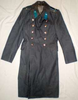 Russian Soviet Military Army Officer Winter Overcoat Shinel CCCP Coat