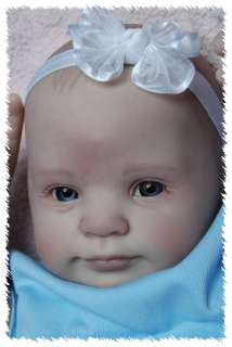 MADE HOLLY ooak doll lifelike fake art ARTIST Baby DONNA RUBERT