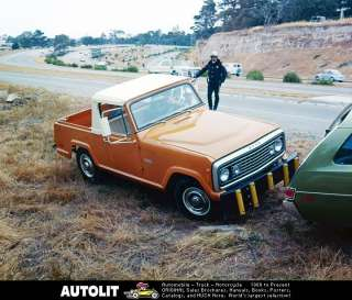 1972 Jeep Commando Pickup Truck Factory Photo