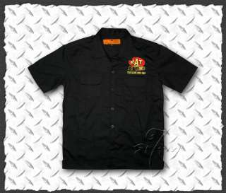 Rod★Casual Work Shirt Rockabilly Tattoo Wear S M L XL 2XL 3XL