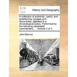 commanders,  Volume 3 of 3 (9781170378090) John Barrow Books
