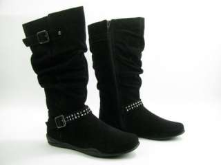Stride Rite Kieran Casual Boot Girls 2.5 NEW BLACK $60